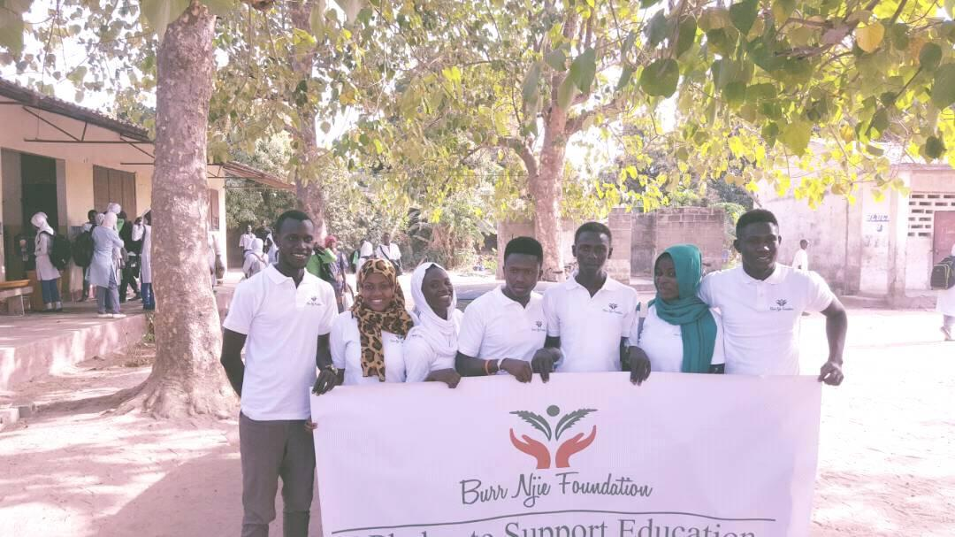 Burr Njie Foundation the Gambia