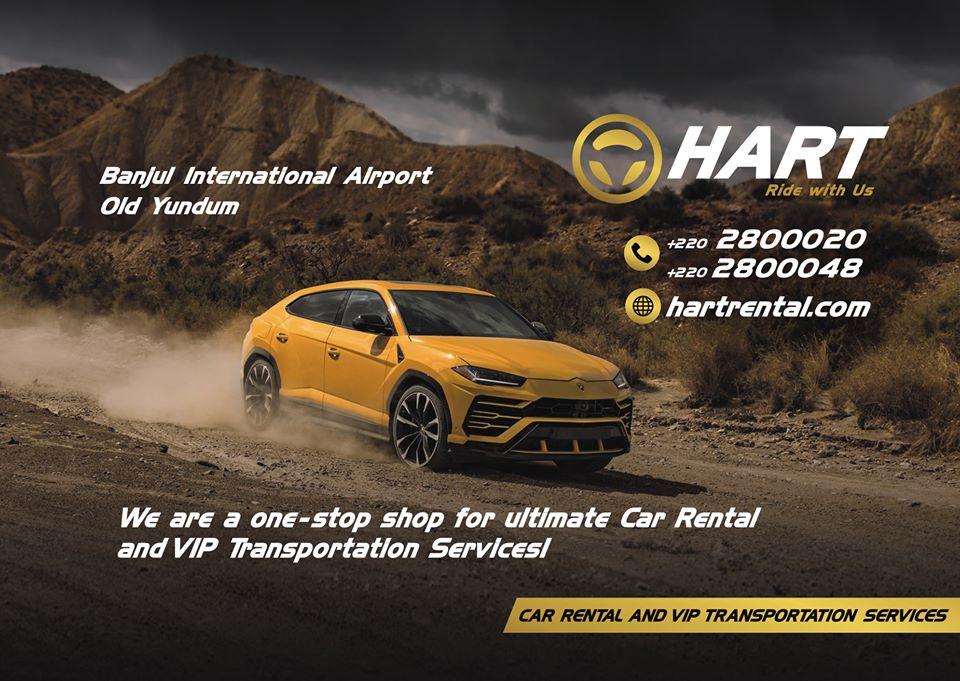 Hart Car Rental Gambia