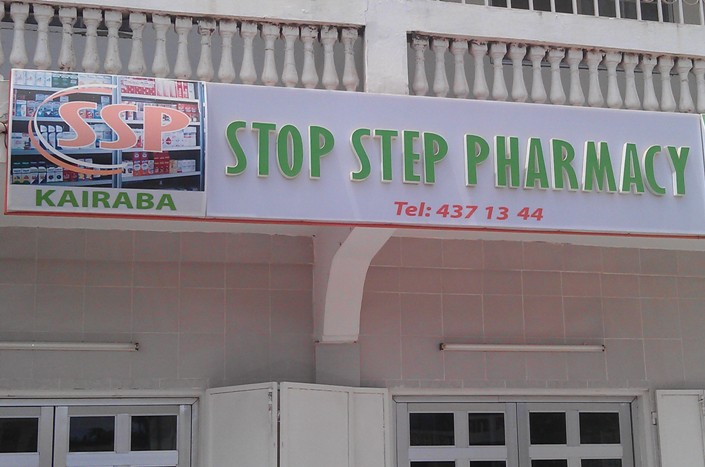 Stop Step and Shop