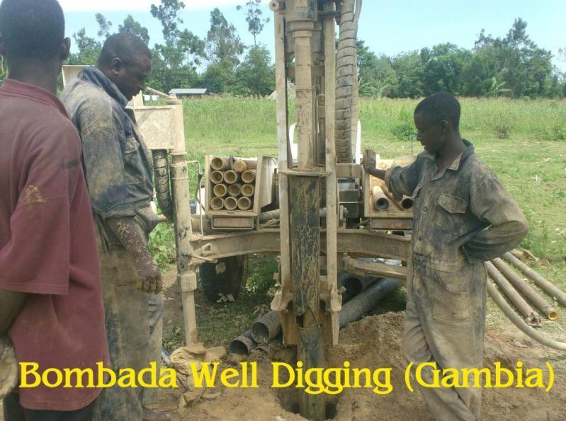Bombada Well Digging Gambia