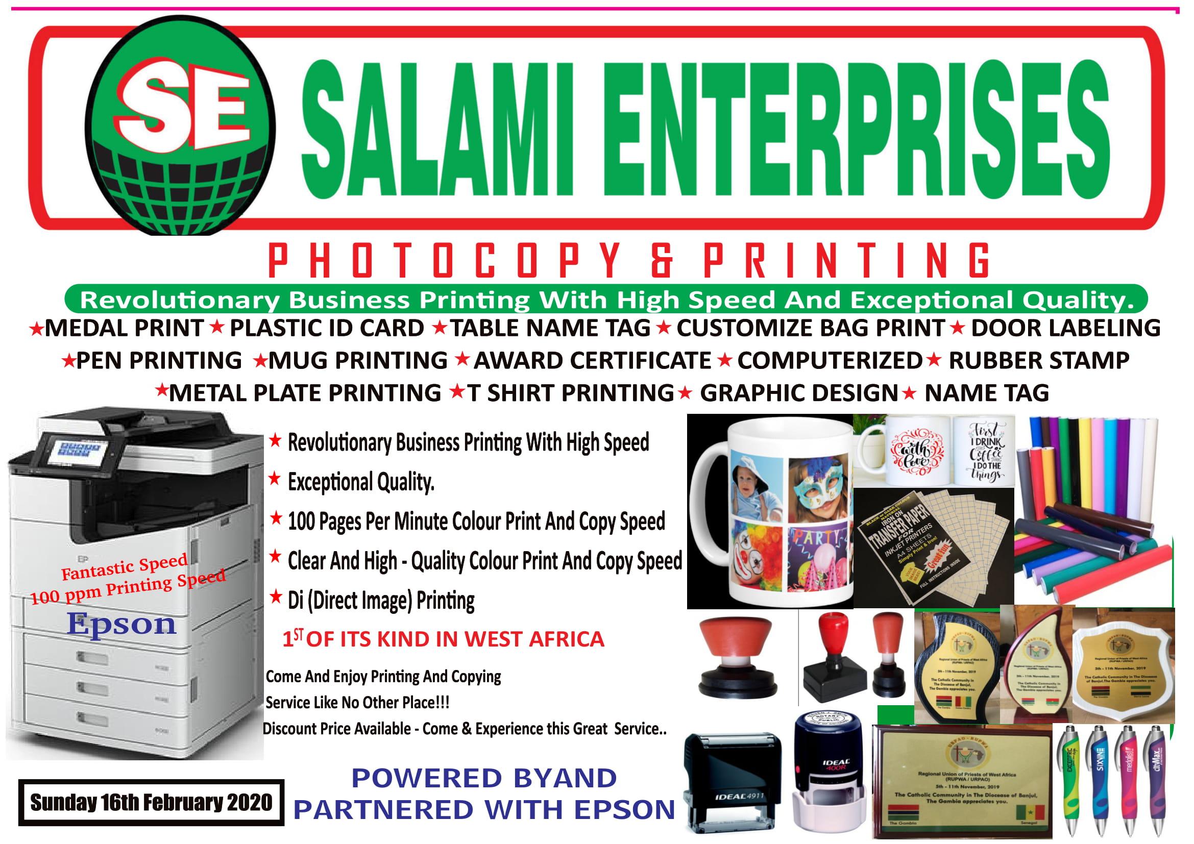 Salami Enterprises