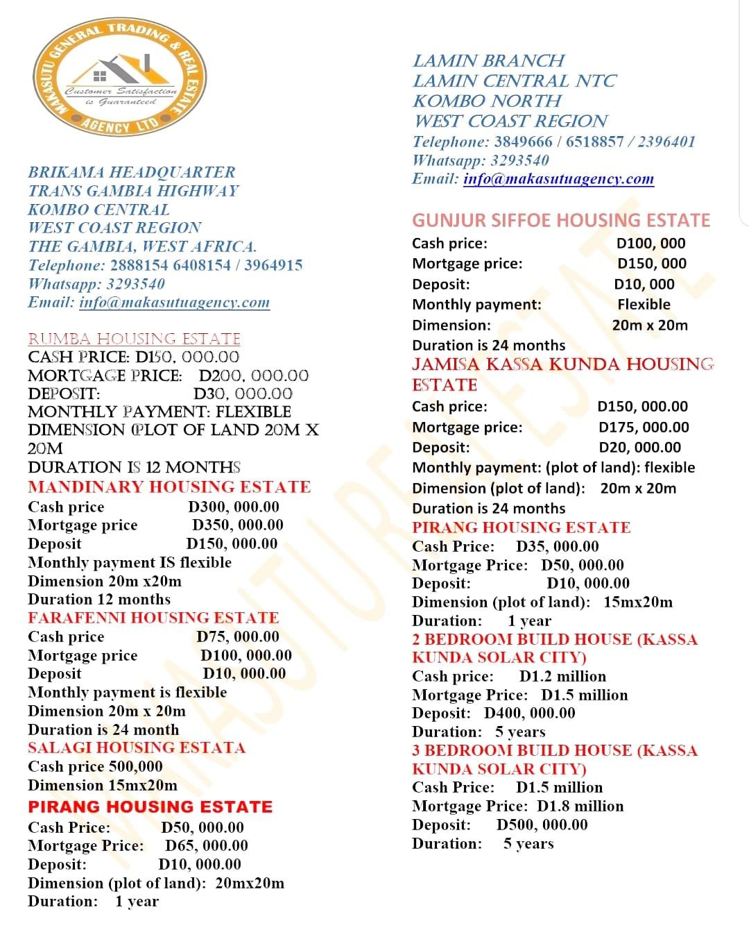 Makasutu Trading and Real Estate Agency